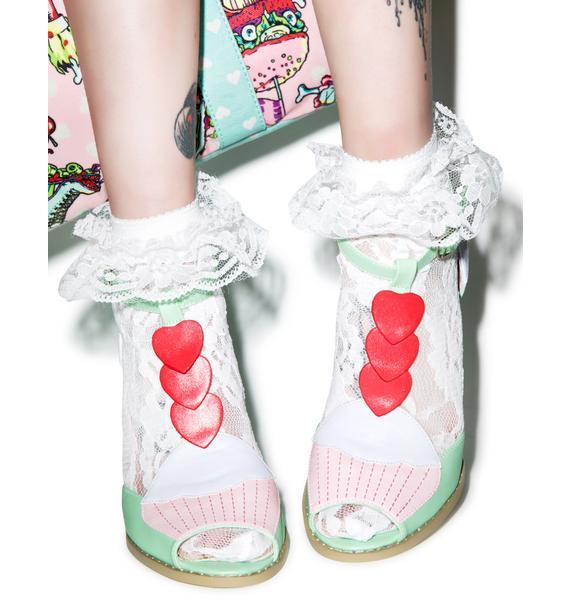 Iron Fist Cupcake Heels