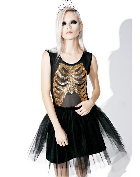 Wishbone Party Dress