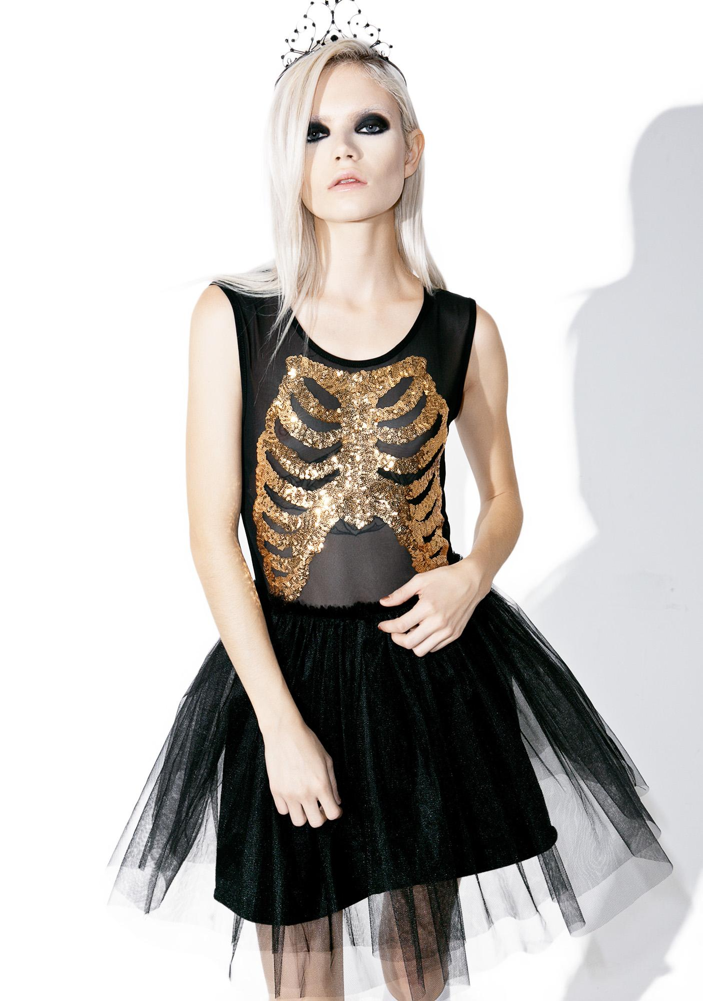 Iron Fist Wishbone Party Dress