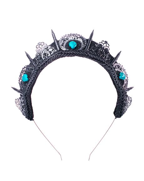 Silver And Turquoise Crown