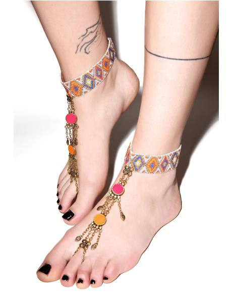 Morocco Foot Chain