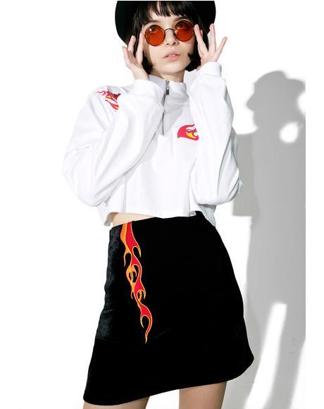 Burning Skirt