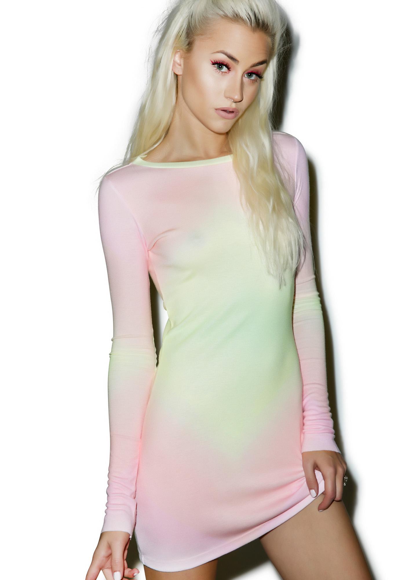 Wildfox Couture Rainbow Brite Arizona Dress