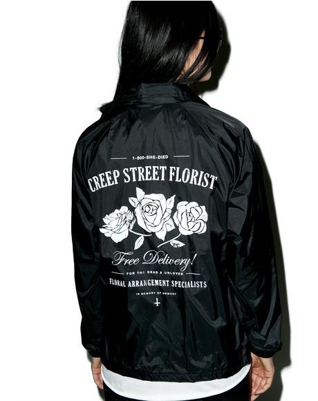 Creepy Florist Coaches Jacket