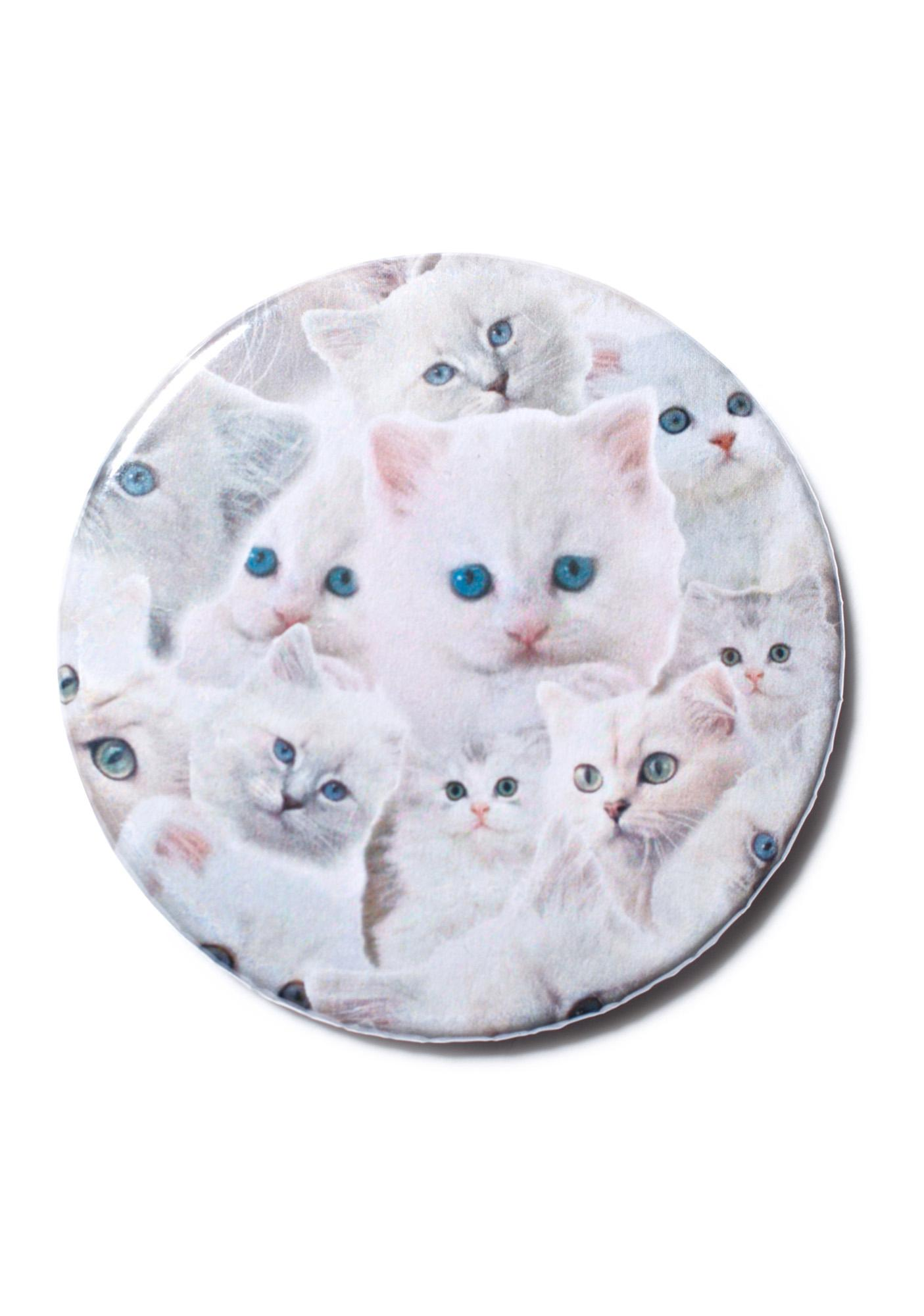 Pussy Galore Compact Mirror