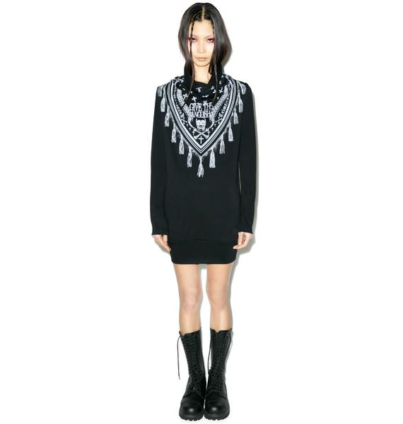 Anguish Scarf Dress