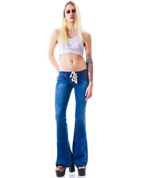 Silverstein Flare Jeans