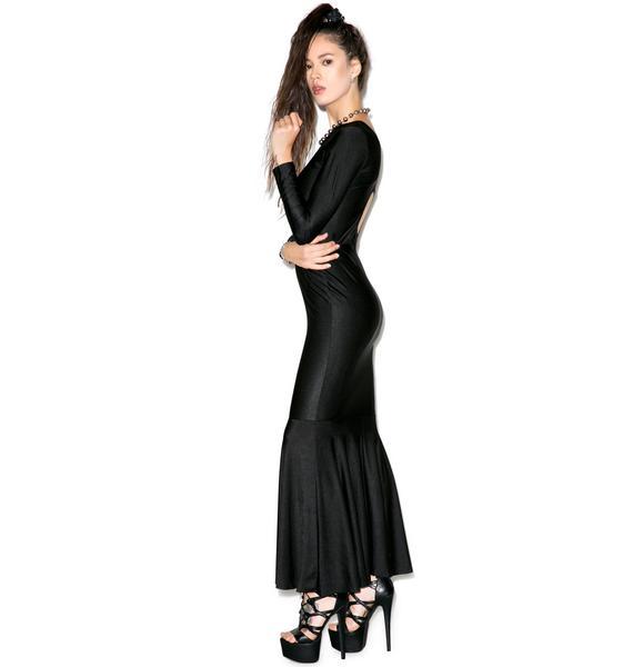 Mermaid Cutout Maxi Dress