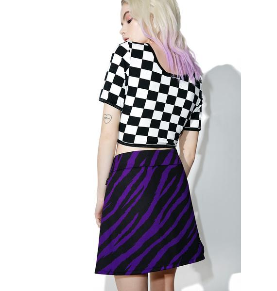 Indyanna Purple Fendi Skirt