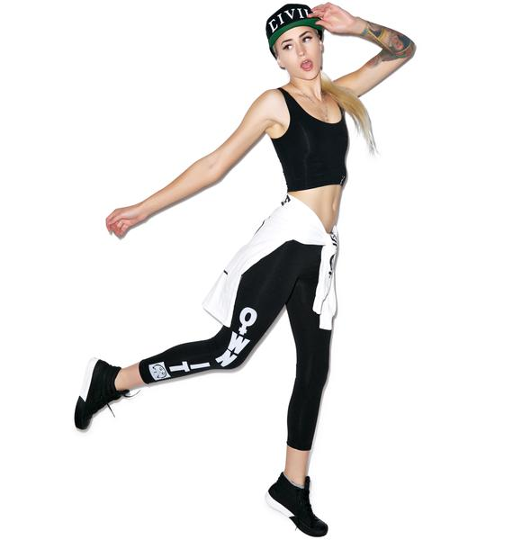 Civil Clothing Own It Mesh Leggings