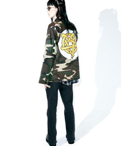 Penta-Party Trick Camo Jacket