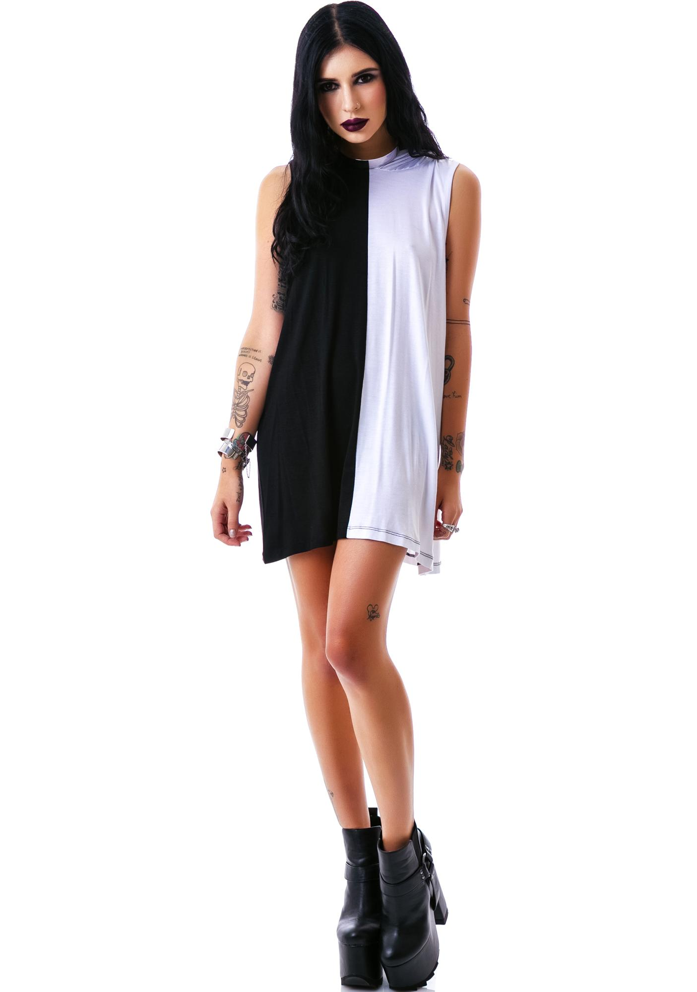 Killstar Duality Hood Dress
