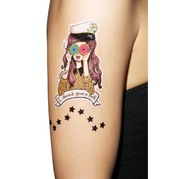 Love And Madness X Valfré Girls Temporary Tattoos
