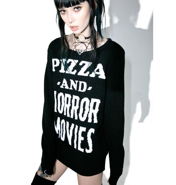 Killstar Stayin' In Knit Sweater