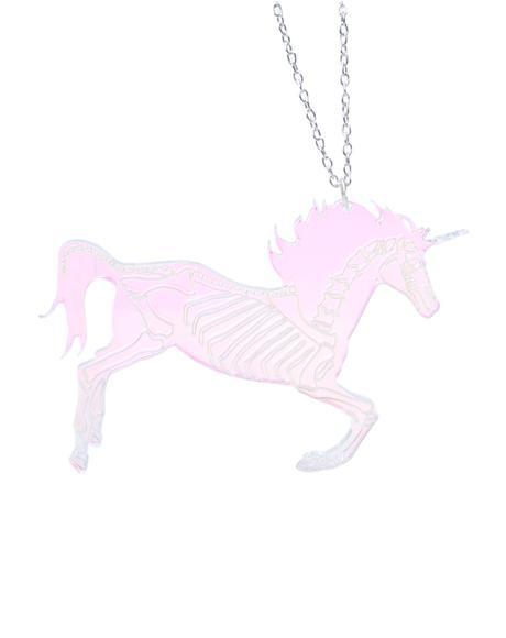 Undead Unicorn Party Necklace