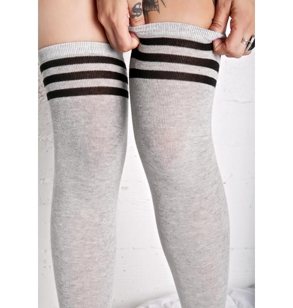 Kickin It Thigh High Socks