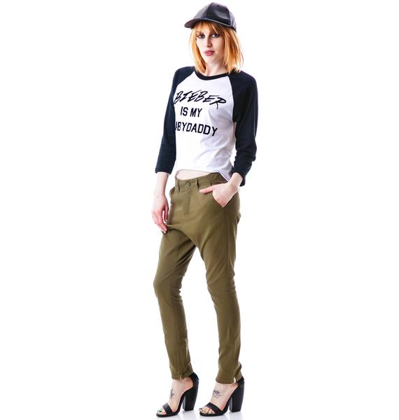 One Teaspoon Cry Tough Slouch Pant
