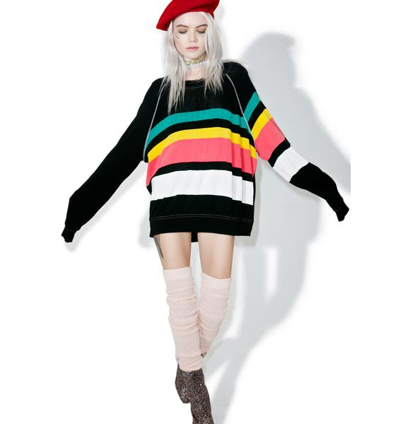 Wildfox Couture 70s Stripe Sommers Sweater