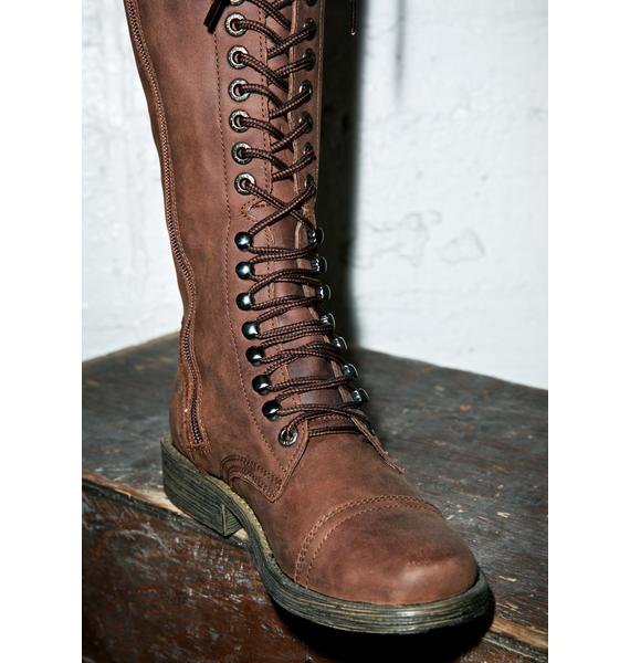 ROC Boots Distressed Fleet Boots