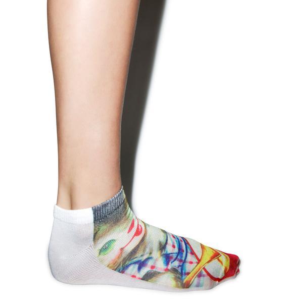 Old Skool Kitten Socks