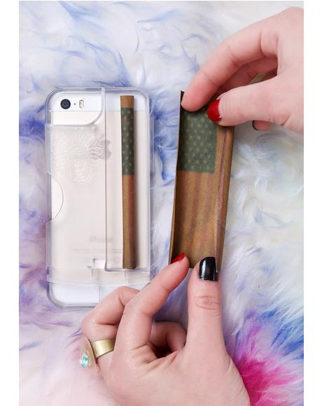 Clear Rolling Tray iPhone 5/5S Case