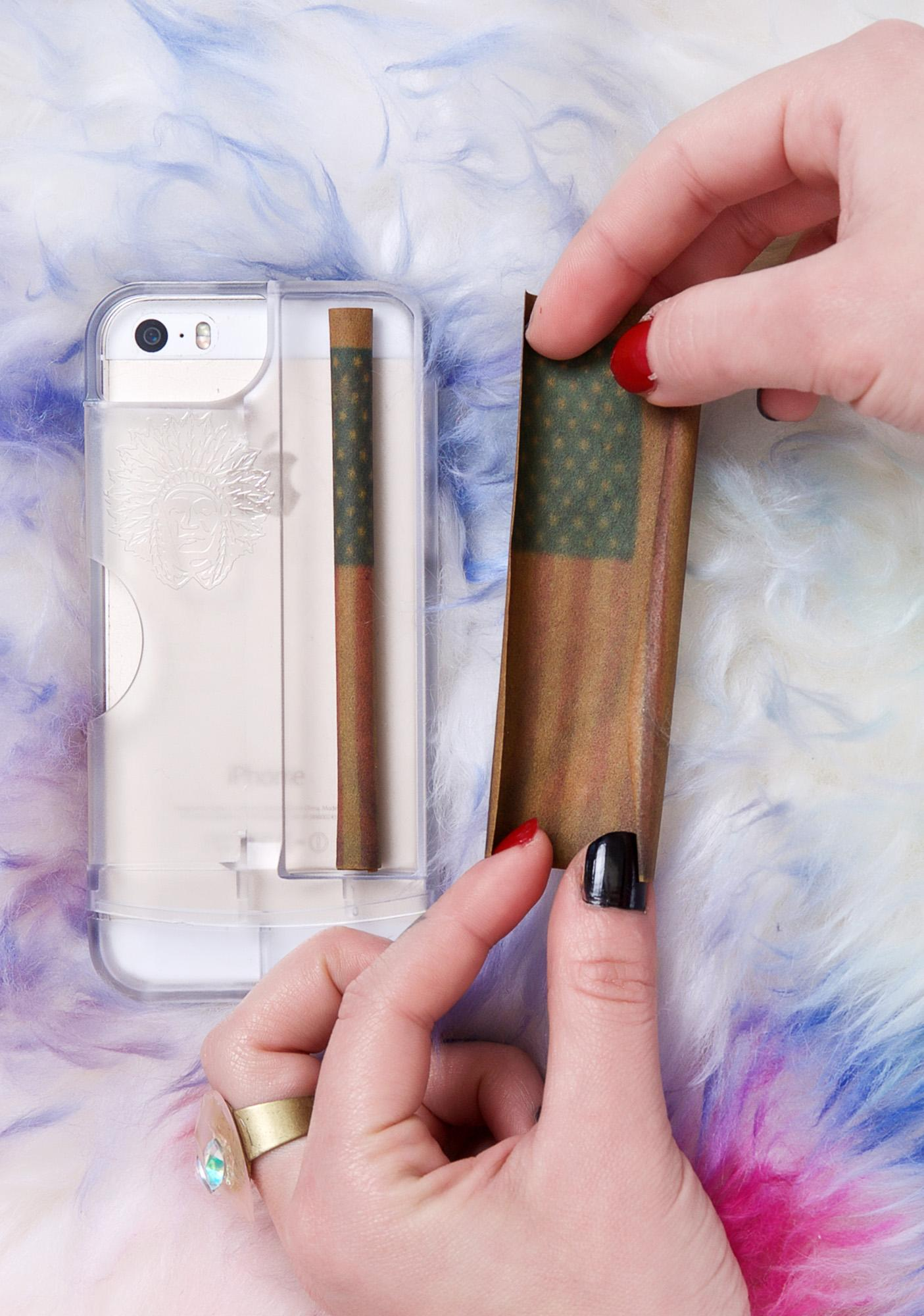 iChief Clear Rolling Tray iPhone 5/5S Case