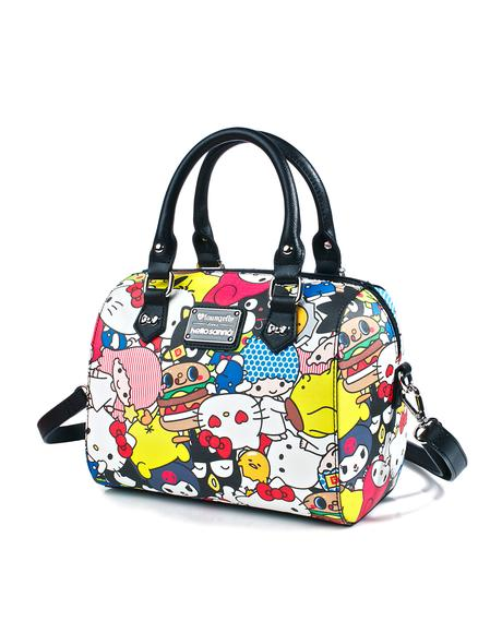 Hello Sanrio Duffle Bag