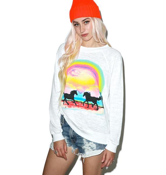 Wildfox Couture Pony Dream Kim's Sweater