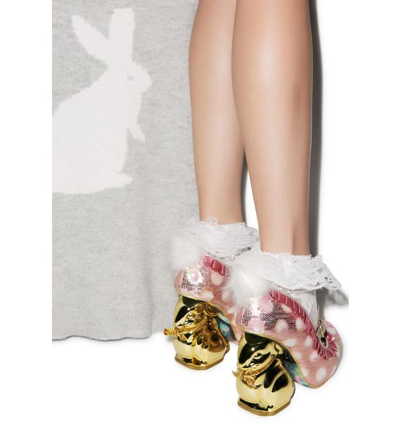 Irregular Choice Fluffy Tail Heels