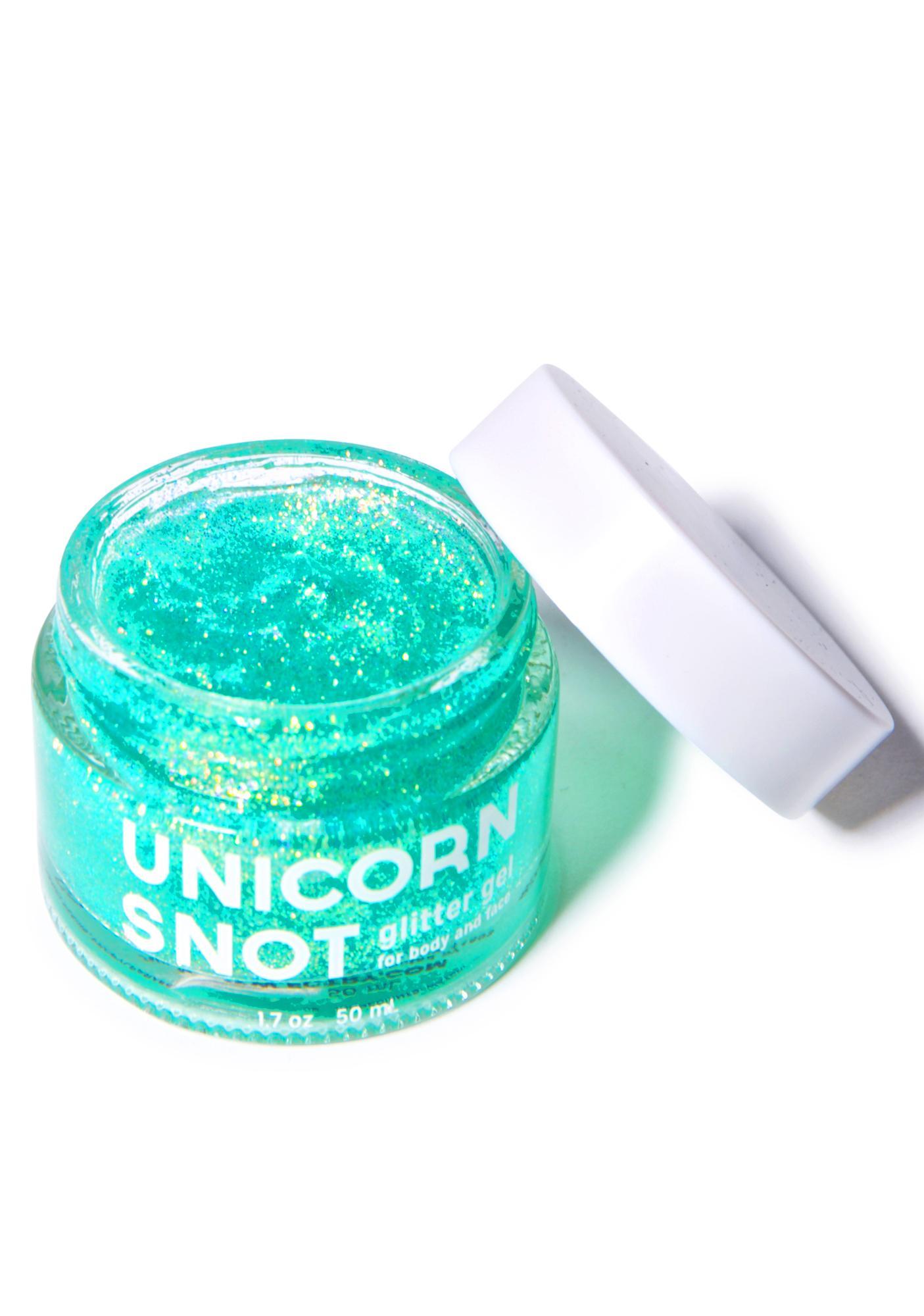 Unicorn Snot Blue Glitter Gel
