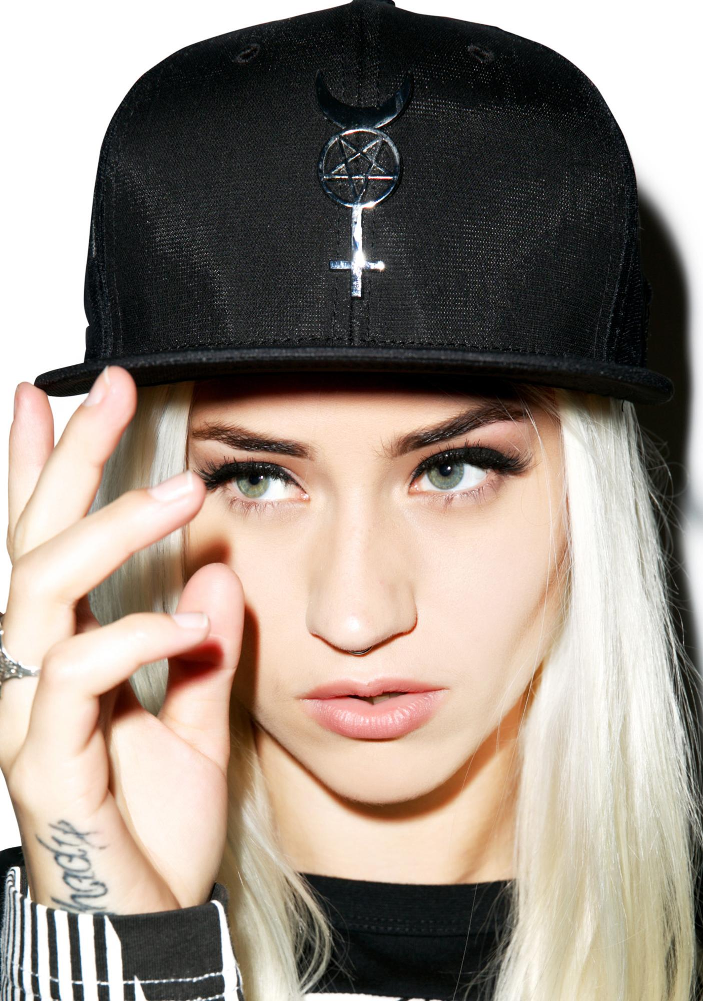 Black Scale Pentavenus New Era Strapback