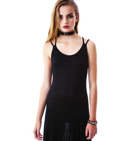 Joni Cross Back Maxi Dress