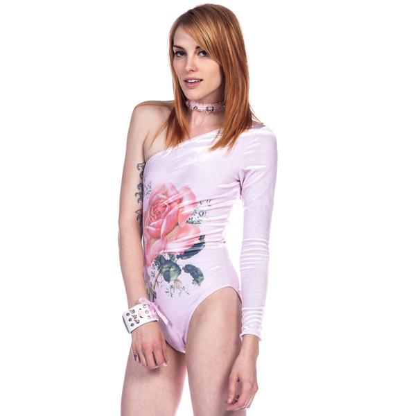 Wildfox Couture A Rose Will Bloom Bodysuit