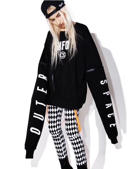 Two-Way UFO Sweater