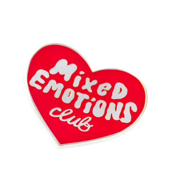 Tuesday Bassen Mixed Emotions Club Pin