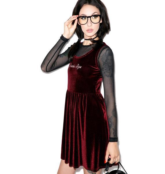 United Couture Basic Bye Velvet Dress