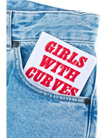 Girls With Curves Patch