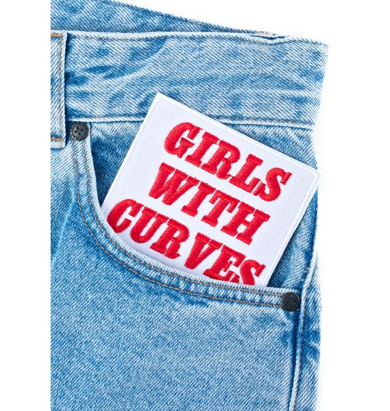 O Mighty Girls With Curves Patch