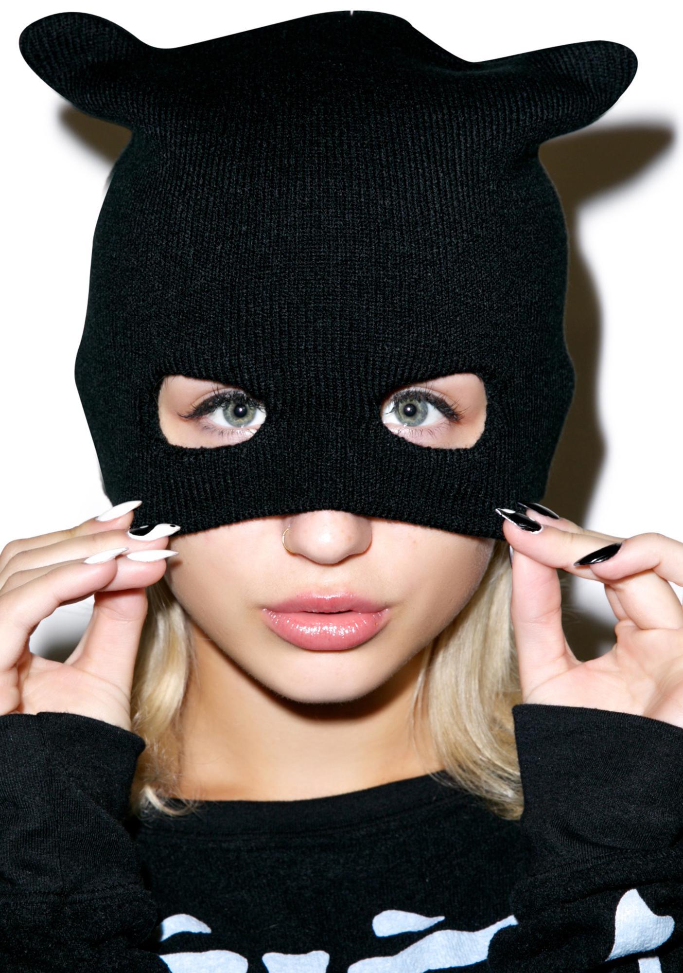 Masked Crusader Knit Mask