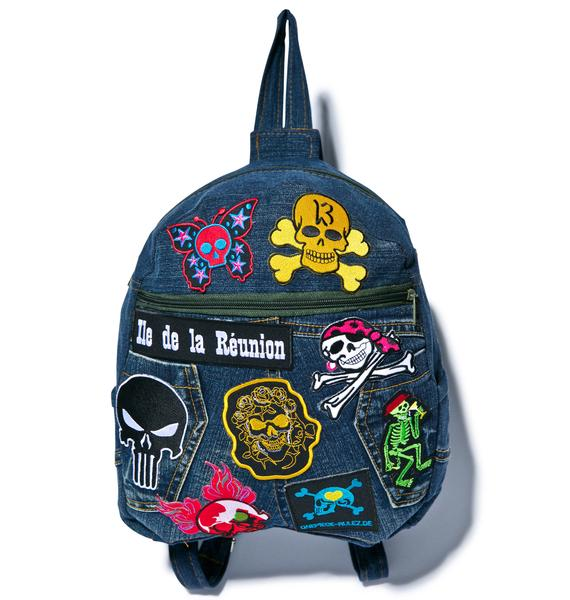 In My Skull Mini Backpack