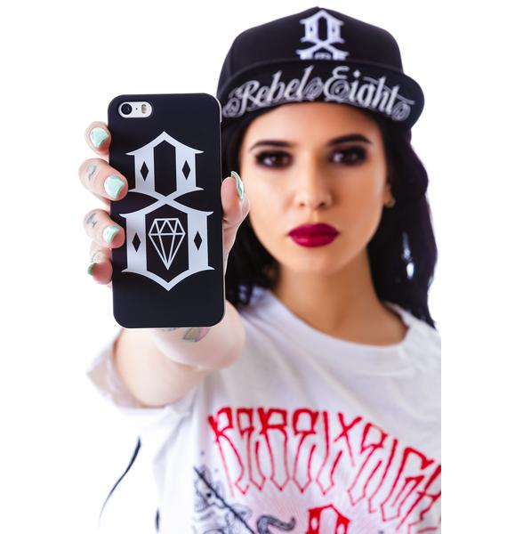 Rebel8 Logo iPhone 5/5s Snap Case