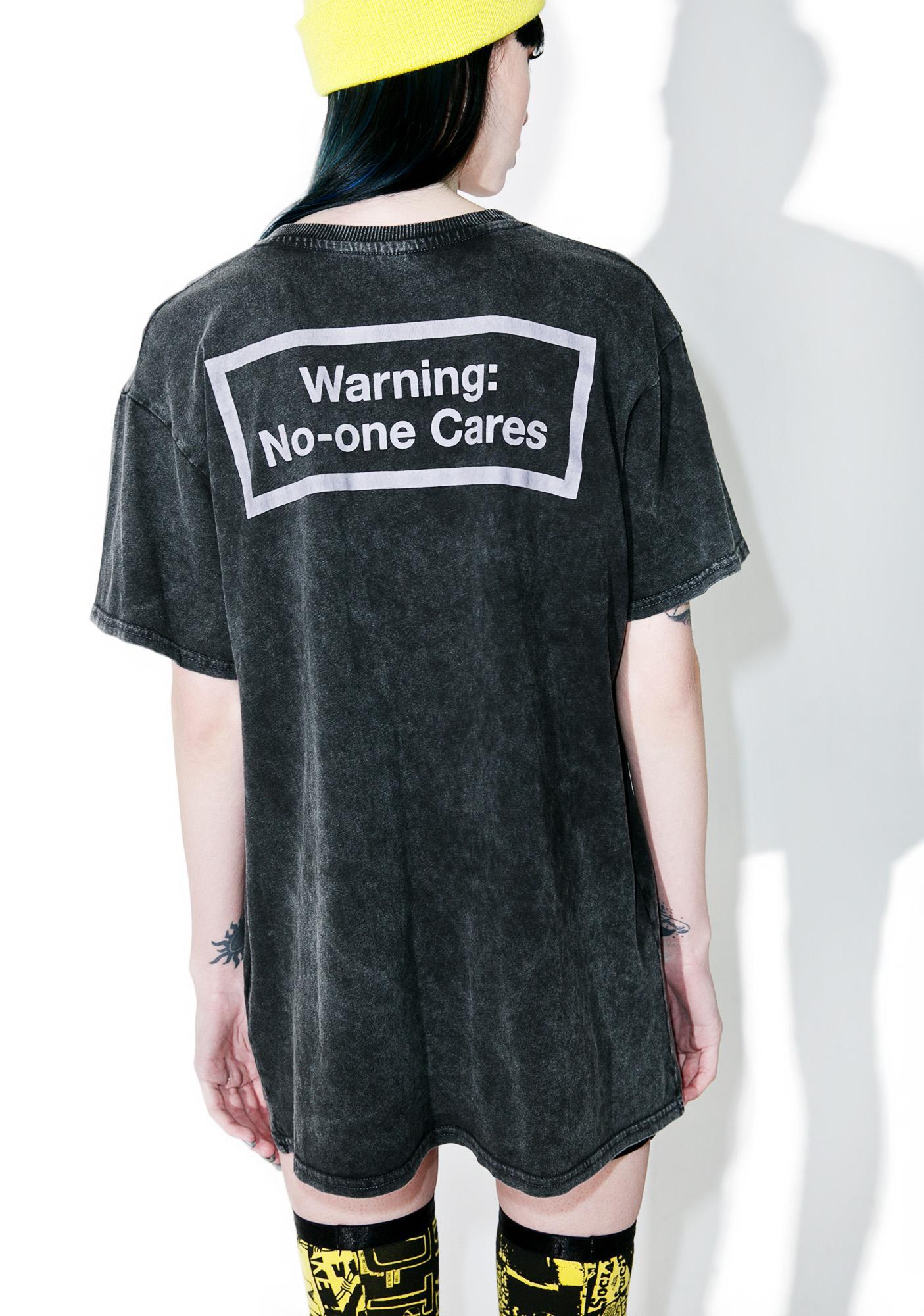 Disturbia No One Cares T-Shirt