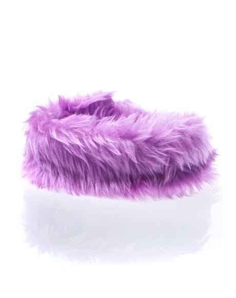 Royal Luvv Fuzzy Choker