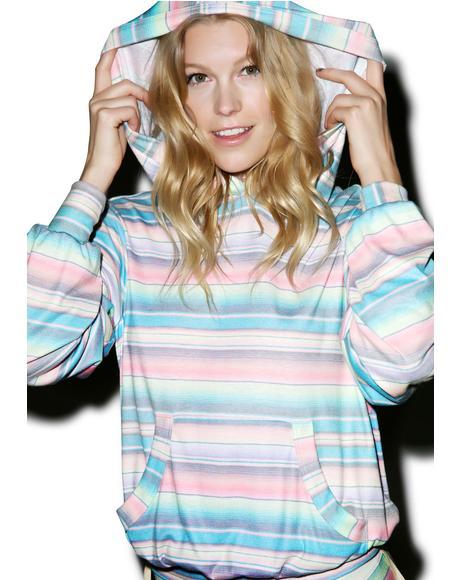 Pastel Blanket Malibu Pullover