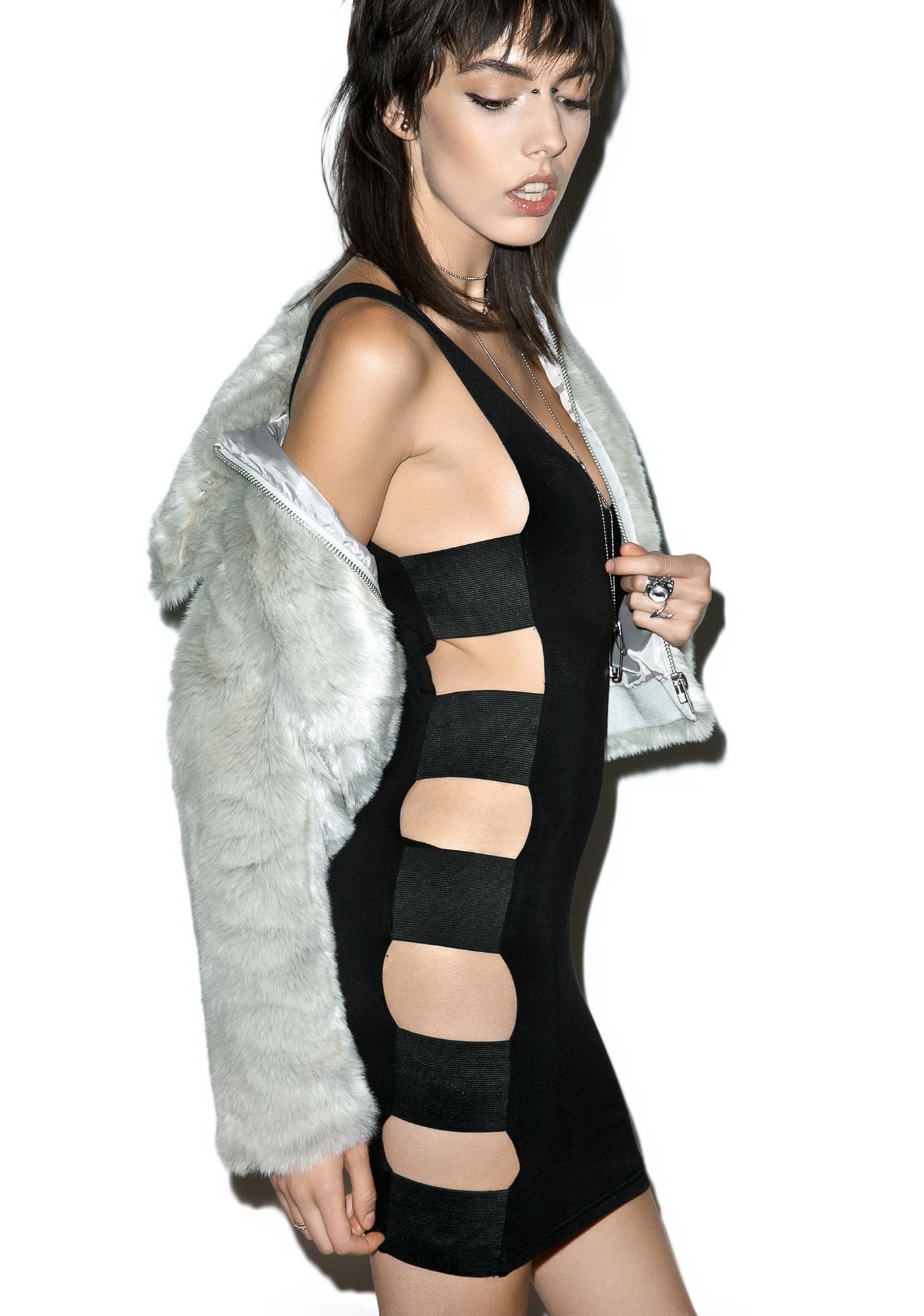 Hardware LDN Lolly Pop Cutout Dress