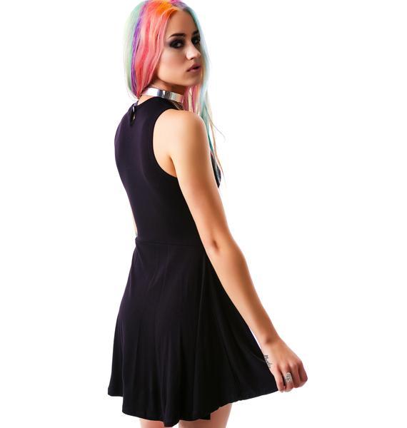 Killstar Moon Child Skater Dress