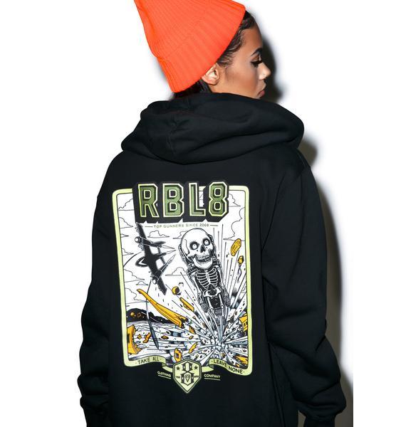 Rebel8 Top Gunner Zip-Up Hoodie
