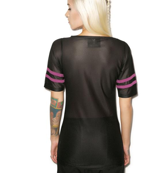 Killstar Freak Football Top