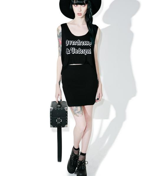 Witch Worldwide Overdressed 'N Underpaid Crop