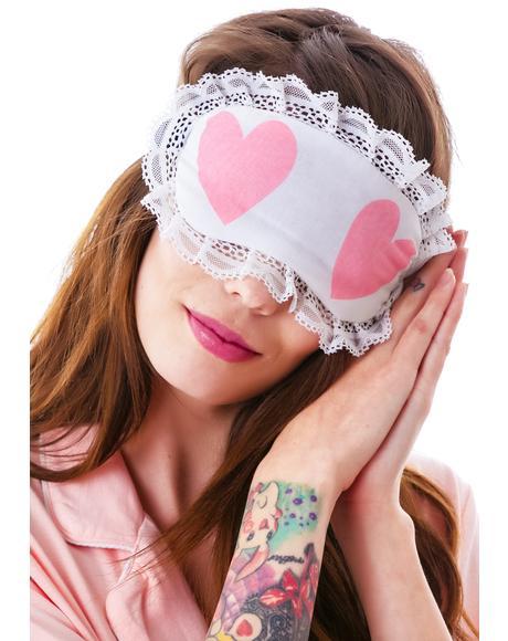 Cheeky Hearts Eye Mask